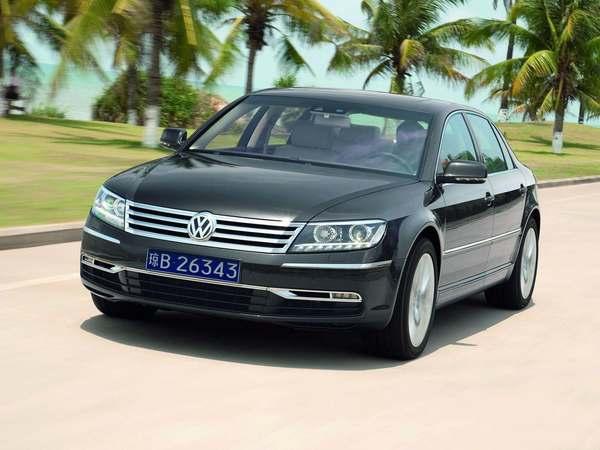 Future Volkswagen Phaeton : une version 100% électrique à venir