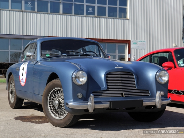 Photos du jour : Aston Martin DB2/4 (Rallye de Paris)