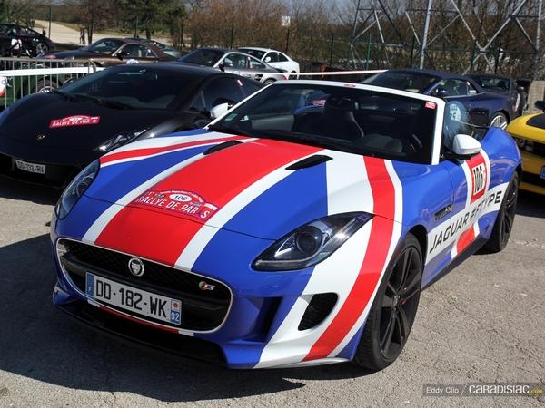 Photos du jour : Jaguar F Type (Rallye de Paris)