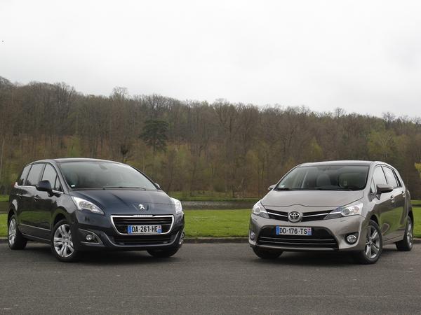 Comparatif vidéo - Peugeot 5008 vs Toyota Verso : les outsiders