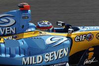 GP de France : Fernando Alonso limite la casse