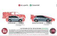 Fiat Panda et Grande Punto Estivale :  des versions climatisées à des tarifs rafraichissants
