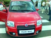 Fiat Panda Sport... enfin par 'sport', on se comprend...