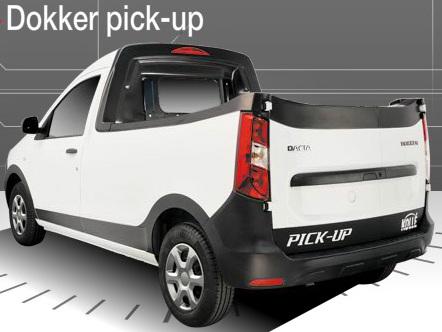 Dacia Dokker: une déclinaison pick-up signée Kollé