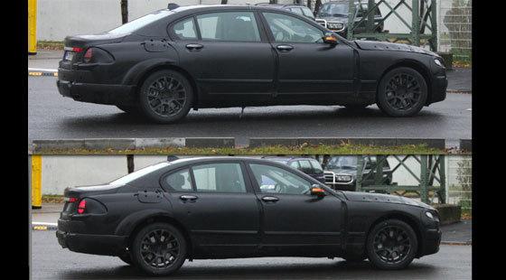 Future BMW série 7: la longue et la courte se baladent