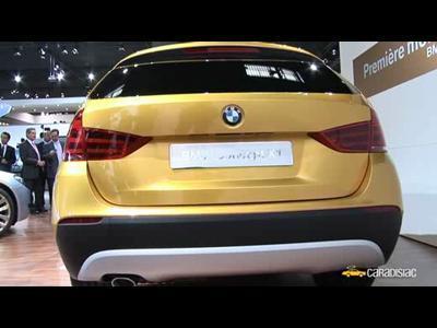 Paris 2008 : BMW X1 Concept