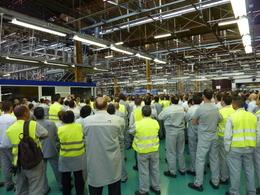 0,40 € d'intéressement pour les salariés PSA de Valenciennes