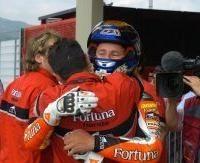 250 Valence: Lorenzo titré, De Angelis enfin gagnant
