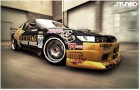 Une Nissan Silvia Star de Fast and Furious 3...