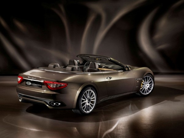 Salon de Francfort 2011 - Maserati GranCabrio Fendi