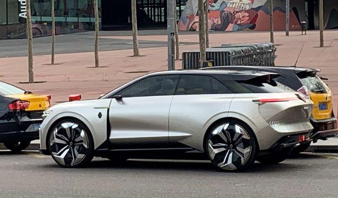 Renault: un nouveau concept-car aperçu