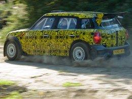 La Mini Countryman WRC en essais