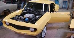 Old fashion : GM s'amuse à mettre un V8 de ZR1 dans une Camaro de 1969