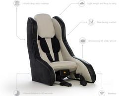 Volvo dévoile le siège enfant gonflable