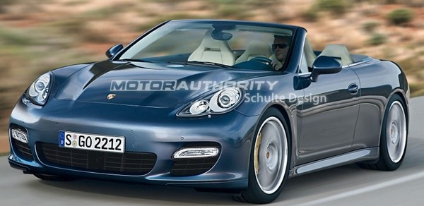Porsche Panamera : bientôt une version Cabriolet