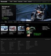 Le Site internet de Kawasaki fait peau neuve
