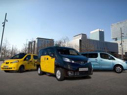 """""""Le taxi Nissan"""" maintenant à Barcelone!"""