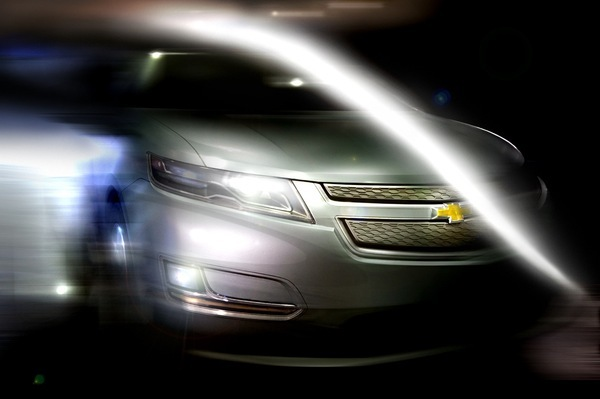 Détroit 2008 : Chevrolet Volt de série: le teasing