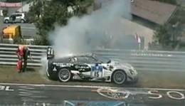[Vidéo] La fin tragique de la Lexus LF-A numéro 15 aux 24 Heures du Nürburgring