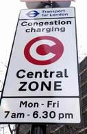 Le centre ville de Londres est payant