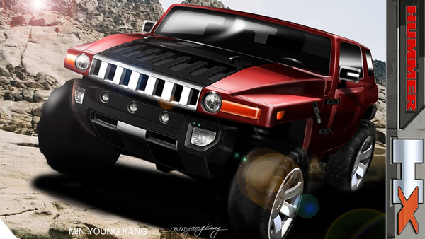 Détroit 2008 : Hummer HX Concept, le Wrangler dans le viseur.
