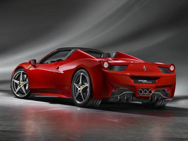 Salon de Francfort 2011 - La Ferrari 458 Spider officielle