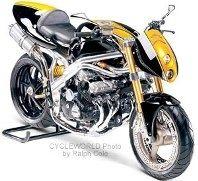 La renaissance du Honda CBX