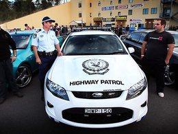 La police australienne s'équipe en Ford Falcon GT