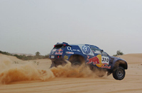 Rallye-raid: VW teste Vatanen et Magnaldi
