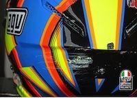 AGV analyse la chute de Rossi à Aragon