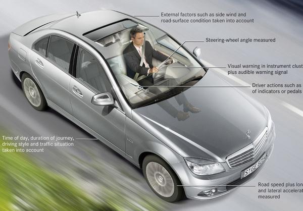 Mercedes Attention Assist : tu ne dormiras point !