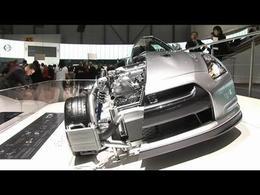 Genève 2008 : Nissan GT-R