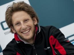 Romain Grosjean signe pour la galaxie Gravity