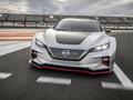 Nissan teste sa Leaf Nismo en Europe