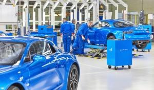 Alpine: l'usine de Dieppe va produire un nouveau modèle