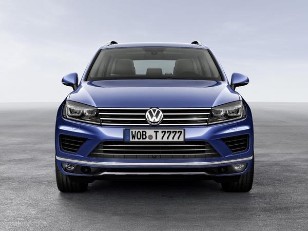Salon de Pékin : Volkswagen restyle le Touareg