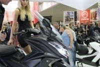 En direct d'Intermot : Kymco AK 550