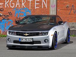 Chevrolet Camaro Wimmer RS et Audiovox : chevaux et sono
