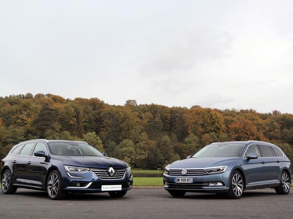 Face à face vidéo : Renault Talisman Estate - Volkswagen Passat SW : première explication