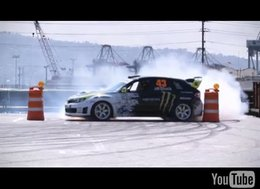 [Vidéo] : Ken Block Gymkhana 2 Project, Hollywood drift