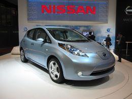La Nissan LEAF  électrique au Mondial de Paris et au Salon de Los Angeles 2010