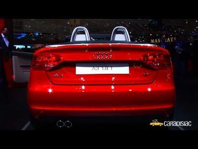 Genève 2008 : Audi A3 Cabriolet