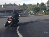 Scooter/Quadro 4 roues : première vidéo volée
