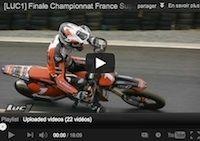 Supermotard: le team Luc1 à Saint-Denis de la Réunion (vidéo)
