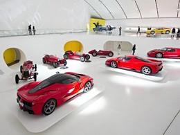 Ferrari entre aujourd'hui en Bourse