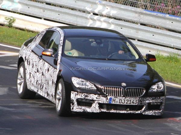 Surprise : la future BMW serie 6 GranCoupe sort le pack M