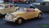 Miniature : 1/43ème - Citroën 15six cabriolet