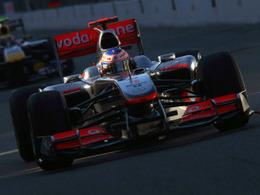 F1 - GP Monza, Essais Libres 1 : Jenson Button devant