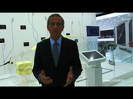 Francfort 2009 : Thierry Lespiaucq, DG Volkswagen France, présente l'E-Up