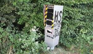 80km/h: le nombre de dégradations de radars s'envole